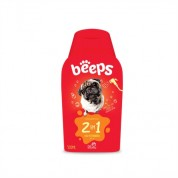 Shampoo Pet Society Beeps 2 em 1 - 500ml