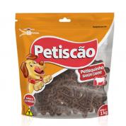 Bifinho Formato Ossinho Petisquitos Carne 250g