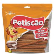 Bifinho Palito Petiscão Cachorros Adultos Carne 500g
