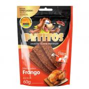 Bifinhos Super Premium Petitos Frango Cachorros 60g