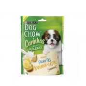 Biscoito Dog Chow Carinhos Banana e Leite Cachorros Filhotes 75g