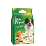 Biscoito Dog Chow Carinhos Raças Médias e Grandes Integral Duo 1kg