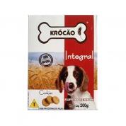 Biscoito Integral Cookies Assados Krócão Cachorros 200g