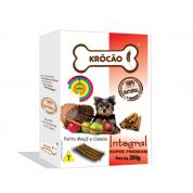 Biscoito Integral Palito Maçã e Canela Cachorros Krócão 200g
