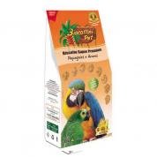 Biscoito para Papagaios e Araras Biscoittini Pet 80g