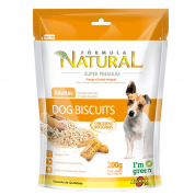 Biscoito Super Premium Fórmula Natural Dog Biscuits Cachorros Adultos 200g