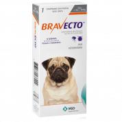 Bravecto Antipulgas e Carrapatos Cachorros 4,5kg a 10kg