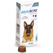 Imagem - Bravecto Antipulgas e Carrapatos Cachorros de 20 a 40kg