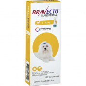 Bravecto Transdermal Antipulgas e Carrapatos Cachorros 2 a 4,5kg 115,5mg