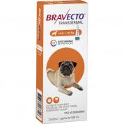 Bravecto Transdermal Antipulgas e Carrapatos Cachorros 4,5 a 10kg 250mg