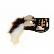 Brinquedo Arranhador Gatos 2 Ratinhos com Plumas