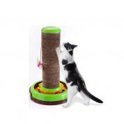 Brinquedo Arranhador Gatos Arranha-Céu Verde Truqys