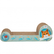 Brinquedo Arranhador Gatos Pet Star Japão Azul