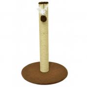 Brinquedo Arranhador Obelisco Gatos Marrom São Pet