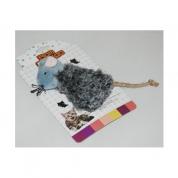 Brinquedo Ratinho em Pelúcia Bom Amigo