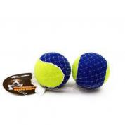 Brinquedo Cachorros Bola de Tênis Dupla Bom Amigo