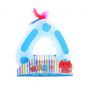 Brinquedo Círculo Feliz Gatos Azul