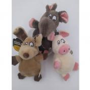 Brinquedo de Pelúcia Turma da Floresta Cachorros Bom Amigo