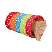Brinquedo Gatos Túnel em Tecido G