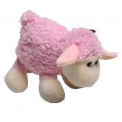 Brinquedo Importado Ovelha Pelúcia Para Cães Petix Rosa