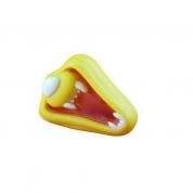 Brinquedo Mordedor Bocas Sorriso Amarelo Bom Amigo
