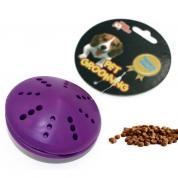 Brinquedo Mordedor Disco Voador Porta Petisco Cachorros Bom Amigo