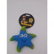 Brinquedo Mordedor Estrela do Mar Cachorros Bom Amigo