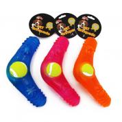 Brinquedo Mordedor Frisbee com Bolinha Cachorros Bom Amigo