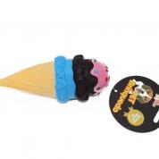 Brinquedo Mordedor Sorvete 3 Bolas Cachorros Bom Amigo
