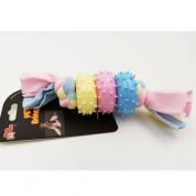 Brinquedo Mordedor Sweet com Cravos Cachorros Bom Amigo
