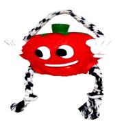 Brinquedo Mordedor Vinil Frutas Morango com corda