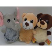Brinquedo Pelúcia Animal Fofuxo Cachorros Bom Amigo