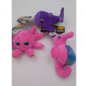 Brinquedo Pelúcia Fundo do Mar Cachorros Bom Amigo