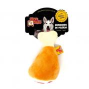 Brinquedo Pelúcia Pernil Cachorros Bom Amigo