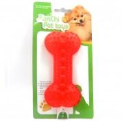Imagem - Brinquedo Porta Petisco Osso Vermelho Para Cães