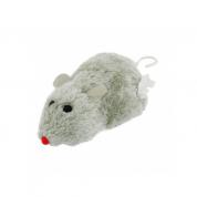 Brinquedo Ratinho de Corda Pega Pega Gatos Bom Amigo