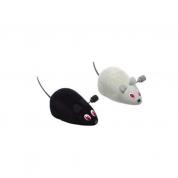 Brinquedo Ratinho de Corda Pequeno Gatos Chalesco 2 unidades