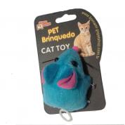 Brinquedo Ratinho Soft para Gatos Cores Sortidas