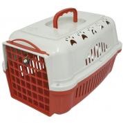Caixa de Transporte Falcon Vermelha Durapets nº 1
