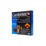 Cardomec Plus Azul Cães até 11kg 6 Tabletes