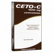 Ceto-C Cetoconazol Antifúngico 20 Comprimidos 400mg