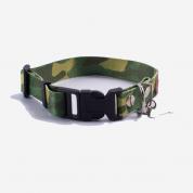 Coleira Prime Cachorros Verde Estampa Camuflado P