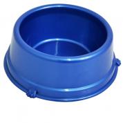 Comedouro Perolizado Médio Azul Cachorros Filhotes 500ml