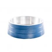 Comedouro Pesado Alumínio Azul Grande 1,75 litros