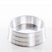Comedouro Pesado Alumínio Grande 1,75 litros