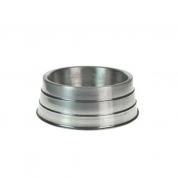 Comedouro Pesado Alumínio Médio 1,2 litros