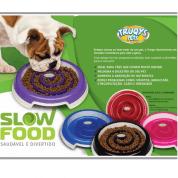 Comedouro Slow Food Truqys Azul Médio
