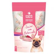 Comida Natural Congelada para Cachorro Suíno com Beterraba 18 porções