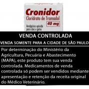 Cronidor 40mg 10 Comprimidos