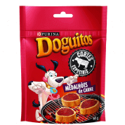 Imagem - Doguitos Cortes Especiais Medalhões de Carne 65g